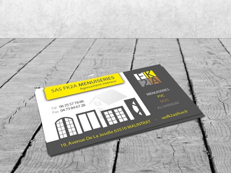 Assez Cartes de visite artisan commerçant - CityZen Com, agence de  NQ82